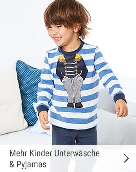 Mehr Kinder Unterwäsche und Pyjamas
