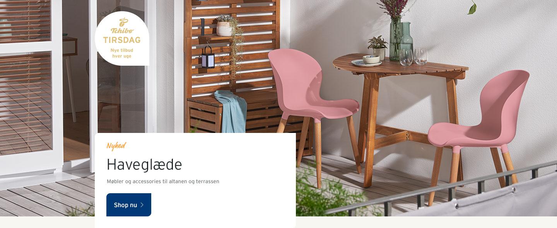 Møbler og accessories til altanen og terrassen