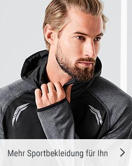Mehr Sportbekleidung für Ihn