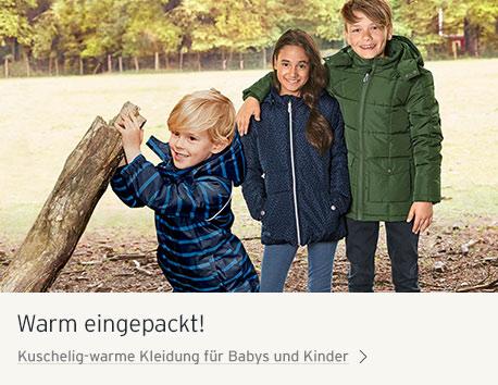 Gut eingepackt für Kind und Baby