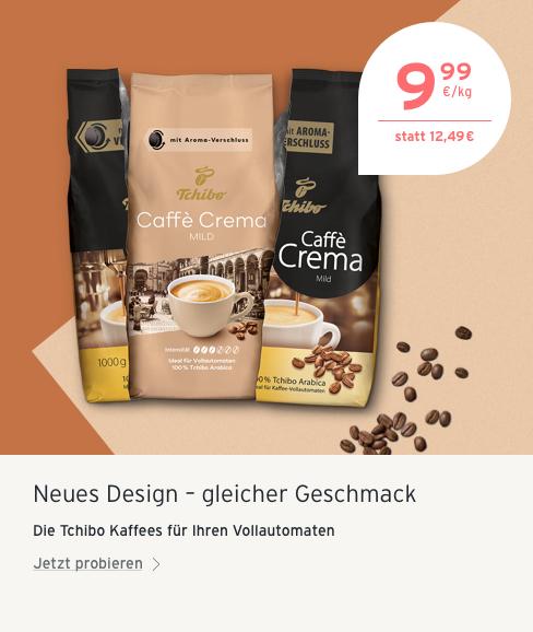Espresso und Caffè Crema zum Angebotspreis