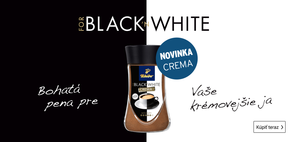 Black and White Crema