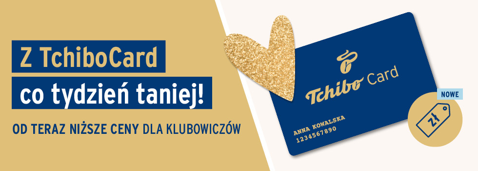 Specjalne oferty cenowe dla Klubowiczów TchiboCard!