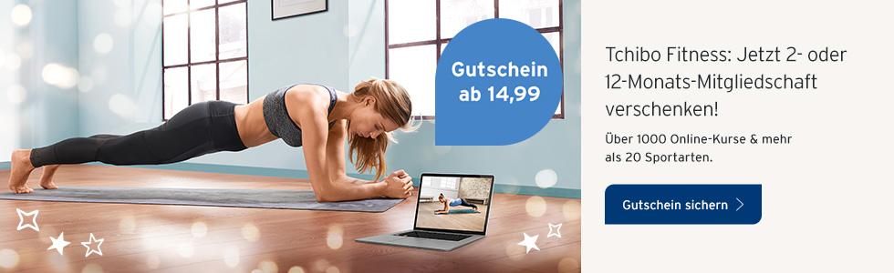 Tchibo Fitness Gutschein