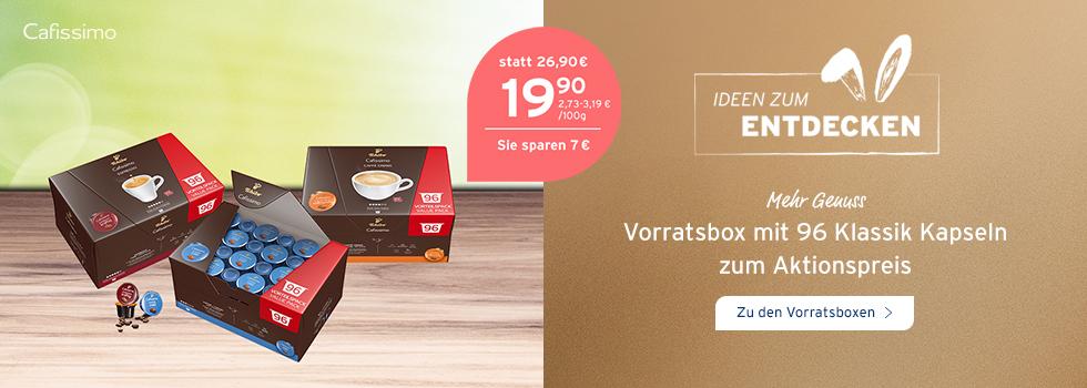 Sparen Sie jetzt 7 EUR beim Kauf von Vorratsboxen