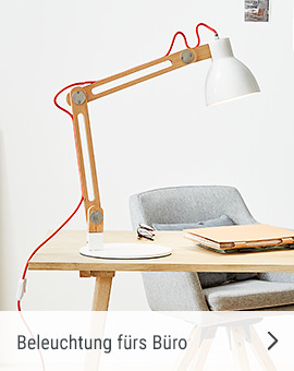 Beleuchtung fürs Büro