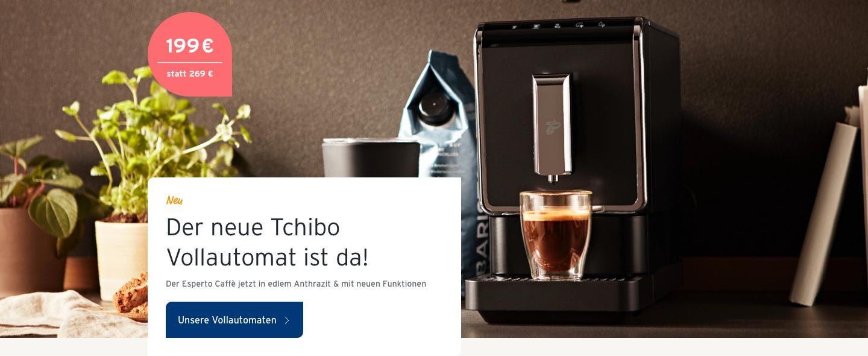 Der neue Tchibo Vollautomat