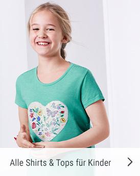 alle shirts und tops für kinder
