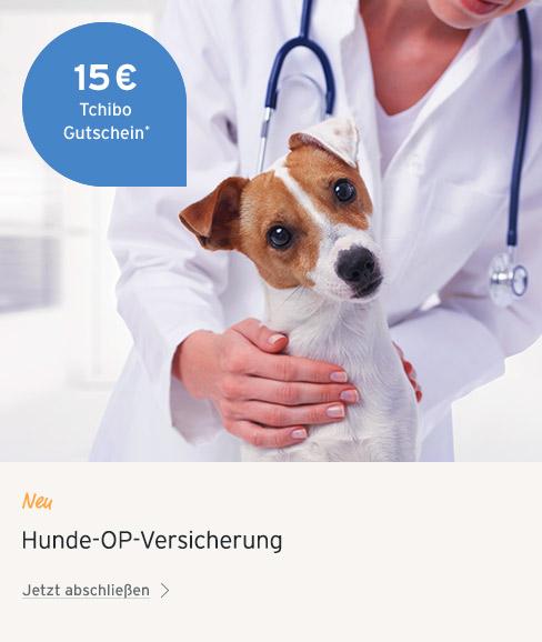 Hunde OP Versicherung Aktion