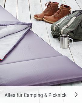 Alles für Camping und Picknick