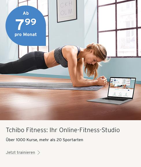 Tchibo Fitness Fit ins neue Jahr