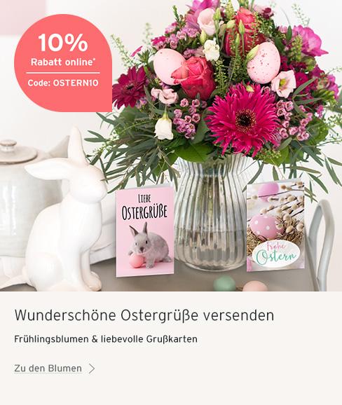 10 % Aktion Blume