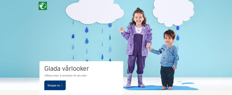 Hållbara baby- & barnkläder för alla väder