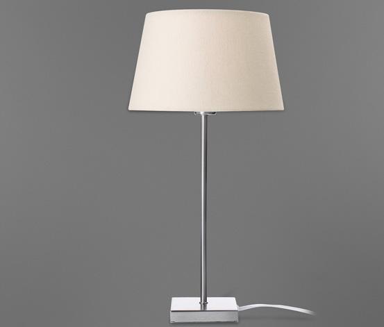 Stolní lampa, smetanová