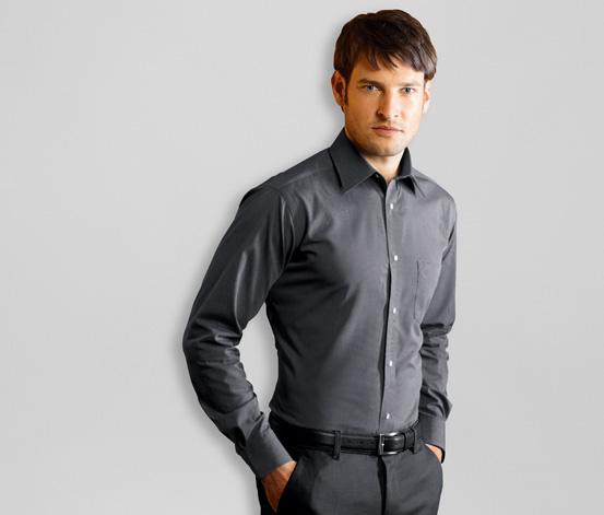Košile, šedo-černá