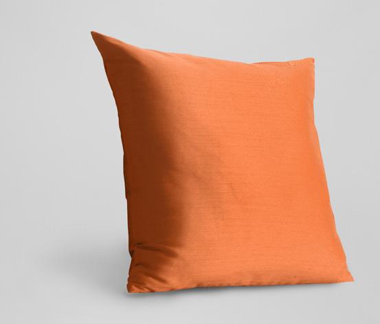 Povlak na dekorační polštář, oranžový