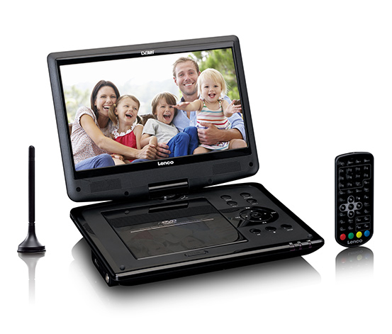 Lenco portabler DVD-Player »DVP-1064«, schwarz