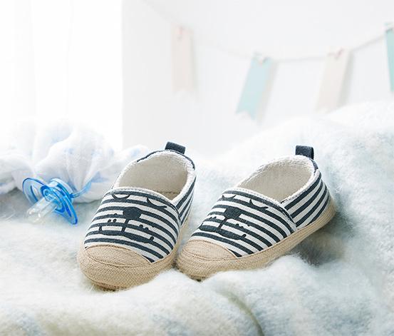 Mavi Organik Pamuklu Ayakkabı