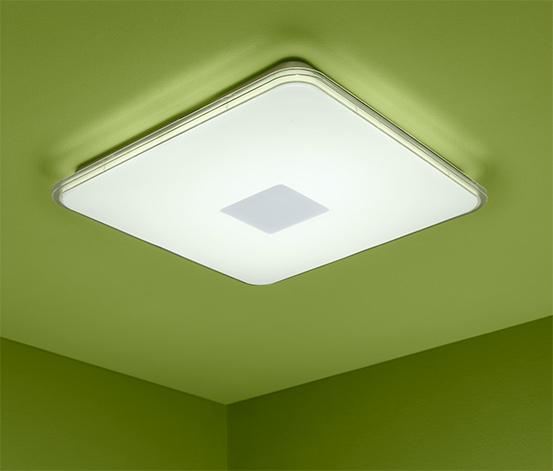 LED-Wand- und -Deckenleuchte mit Bewegungsmelder