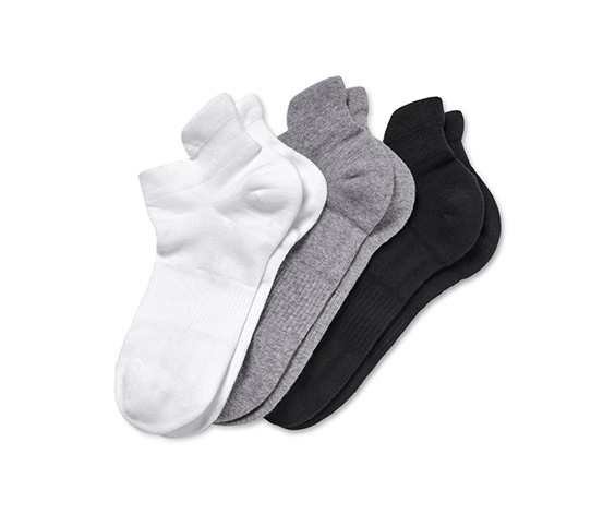 3 Paar Sport-Sneakersocken