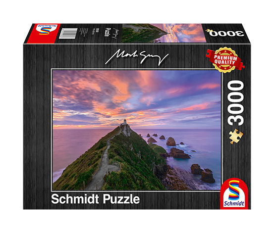 Schmidt Spiele Puzzle »Nugget Point Lighthouse, The Catlins, South Island – New Zealand«