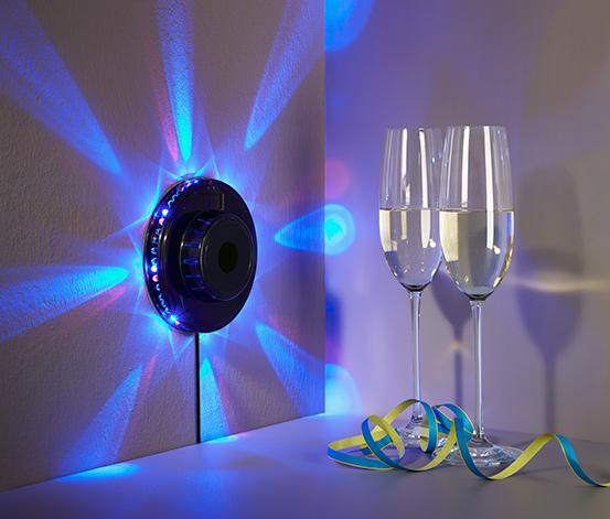 Světelné kolo na party s LED