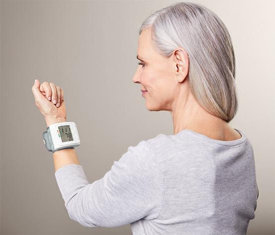 Handgelenk-Blutdruckmessgerät