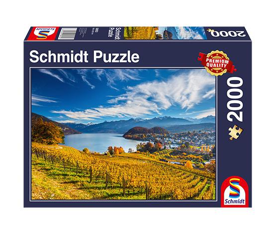 Schmidt Spiele Puzzle »Weinberge«