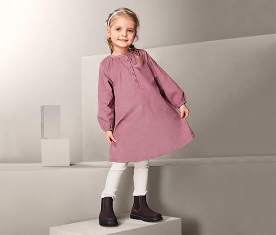 Dziecięca sukienka sztruksowa