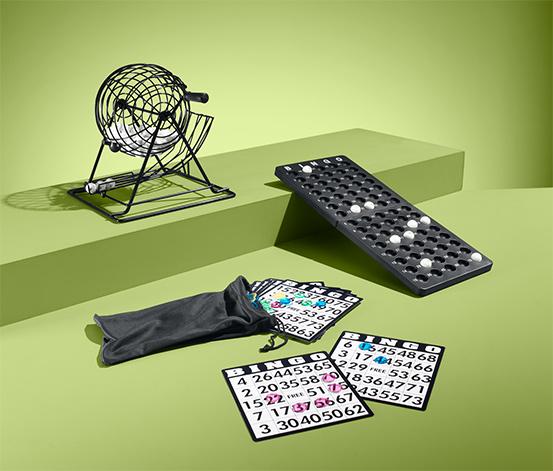 Tischspiel »Bingotrommel«