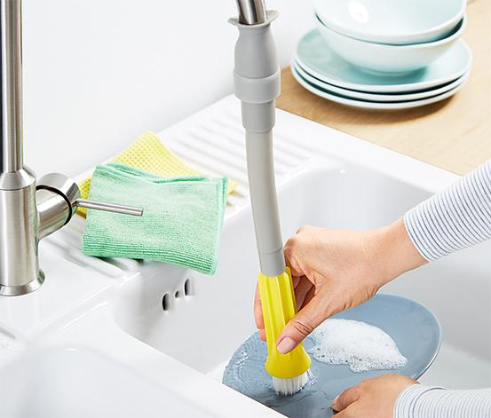 Embout de brosse à vaisselle pour robinet