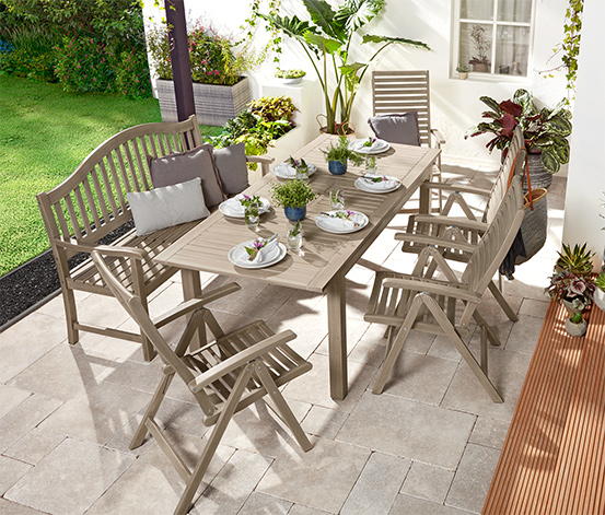Összecsukható kerti szék, akácfa