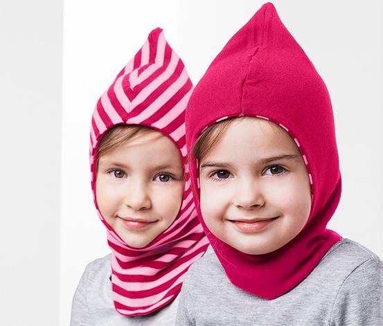 Dwustronna czapka kominiarka