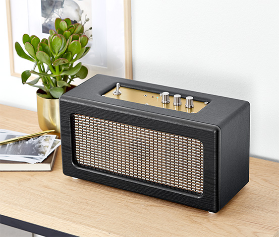 Retro-Bluetooth®-Lautsprecher
