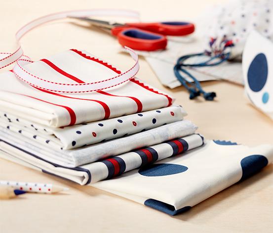 Zestaw tkanin, 5-częściowy