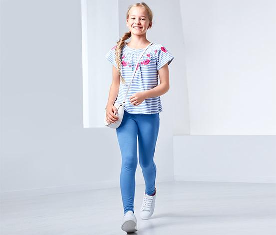Lányka treggings, kék