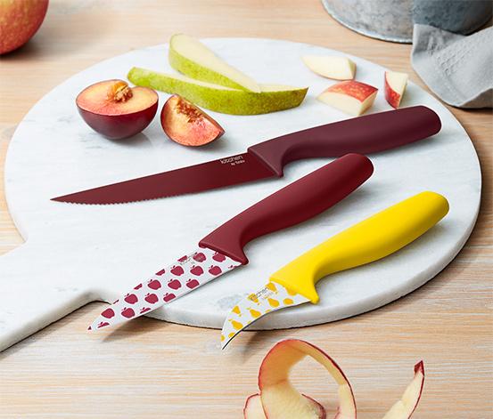 Kuchynské nože, 3 ks