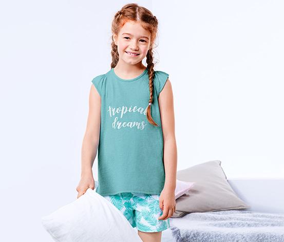 Piżama z koszulką i spodenkami