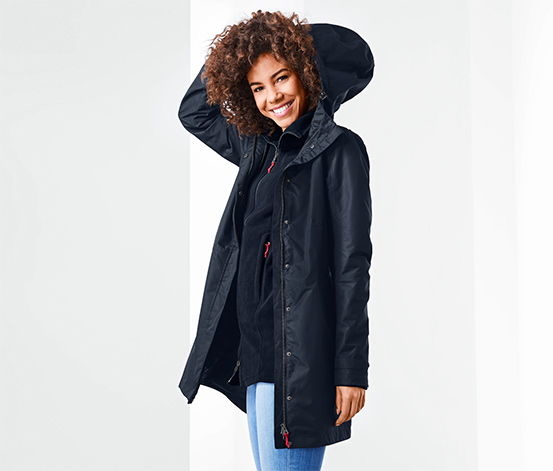 Manteau outdoor fonctionnel