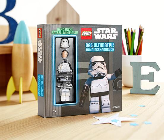 Box »LEGO® Star Wars™ – das ultimative Trainingshandbuch mit Minifigur«