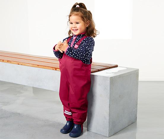 Spodnie przeciwdeszczowe dziecięce