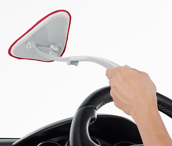 Brosse de nettoyage pour pare-brise de voiture