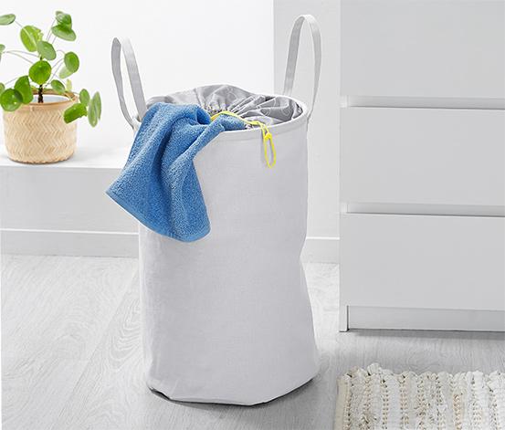 Panier à linge pliable en textile