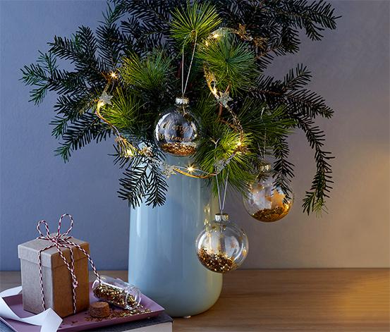 Karácsonyi díszítő készlet, csillagos