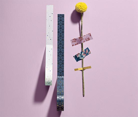 10 rouleaux de ruban adhésif décoratif