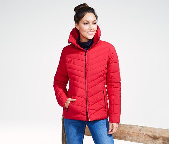 Pikowana kurtka narciarska