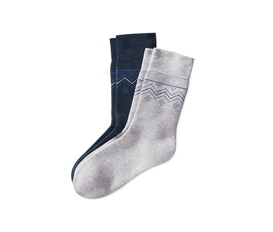 2 paires de chaussettes thermiques