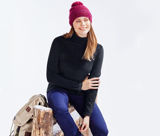 Női garbónyakú pulóver