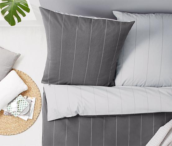 Parure de lit réversible en flanelle de coton, taille normale