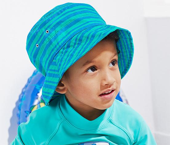 Gyerek nyári kalap, kék
